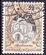 Tschechoslowakei CSSR - Wolfgang Amadeus Mozart (MiNr: 971) 1956 - Gest Used Obl - Oblitérés