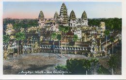 Cambodge - Angkor Wath - Vue Orientale Prise En Bas - Cambodia