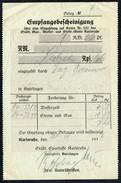A8538 - Karlsruhe - Alte Rechnung Quittung - Gas Wasser Licht - 1936 - Elektrizität & Gas