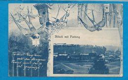BITSCH   Mit Festung  Hirondelle      écrite En 1908 - Bitche