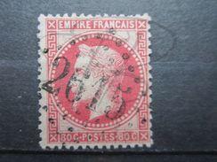 """VEND BEAU TIMBRE DE FRANCE N° 32 , G.C. """" 2615 """" (NAY) !!! - 1863-1870 Napoléon III Lauré"""