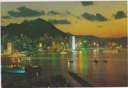 Chine,asie,HONG KONG,CHINA,ASIA,LA NUIT,NIGHT - Cina (Hong Kong)