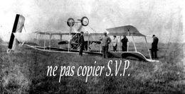 Guerre 14-18 AVIATION AVION RETOURNE FAUTE DE PILOTAGE 2 Négatifs  Militaire Escadrille VB 110 Aerodrome MALZEVILLE 1915 - 1914-18