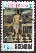 """636 Grenada 1975 """"Il Sangue Del Redentore"""" - Quadro Dipinto Da G. Bellini Rinascimento Paintings Tableaux Pasqua Easter - Grenada (1974-...)"""