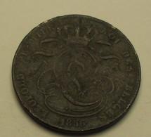 1856 - Belgique - Belgium - 5 CENTIMES, LEOPOLD 1er, KM  5.1 - 03. 5 Centiem
