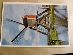 MOULIN  HOLLANDAIS A  HAZERSWOUDE - Windmühlen