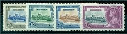 Mauritius, König Edward., Nr. 196 - 199, Falz * - Mauritius (...-1967)