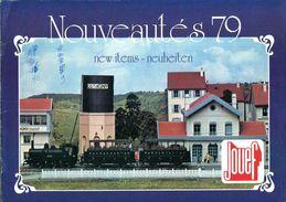 Catalogue Jouef Nouveautés 1979 - Livres Et Magazines