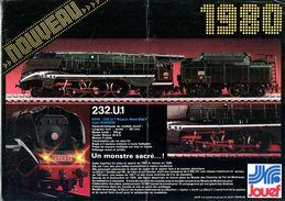 Catalogue Jouef Nouveautés 1980 - Livres Et Magazines