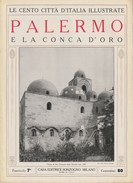 PALERMO E La Conca D'oro - Anni '20 - - Documenti Storici