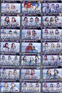 430 Space Russian Pins Set Flights Spaceship Soyuz To Orbital Station Salyut-7 And Orbital Station MIR (52pcs) - Space