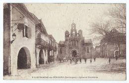 Villefranche-du-Périgord - Eglise Et Cornières - France