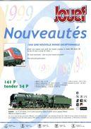 Catalogue Jouef  Nouveautés 1999 - Books And Magazines