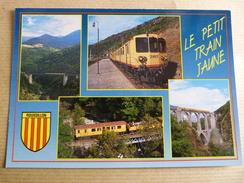 LE PETIT TRAIN JAUNE ROUSSILLON - Trains