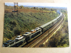 TRAIN AUTOS COUCHETTES - Trains