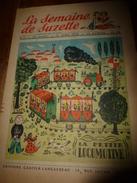 1950 LSDS (La Semaine De Suzette): La Petite Locomotive ; Les Danseuses De Danses Sacrées En Inde  ; Etc - La Semaine De Suzette
