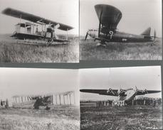 Z 2045 CPSM  AVIATION LOT DE 4 CARTES PUBLICITE TRANSFISINE - 1914-1918: 1ère Guerre
