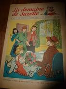 1950 LSDS (La Semaine De Suzette): La Beauté Du DIABLE ; La Messagère De Saint François ; Etc - La Semaine De Suzette