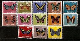 Surinam 1972 Papillons Butterflies Set Complete MNH ** Super BARGAIN - Suriname ... - 1975