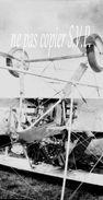 Guerre 14-18 AVIATION APPAREIL RENVERSE Négatif  Militaire Escadrille VB 110 Aerodrome MALZEVILLE 1915 - 1914-18