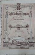 EGYPT - Fayoum Light Railways Company - VVVV RARE - Railway & Tramway