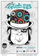"Carte Postale Expo Gotlib ""Les Mondes De Gotlib"" - Paris 2014 - Gotlib"