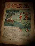 1950 LSDS (La Semaine De Suzette):Le Mystère Du CHAT SIAMOIS ; Etc - La Semaine De Suzette