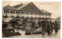 *** CPA - 18 - Bourges - Les Halles - Bourges