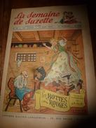 1950 LSDS (La Semaine De Suzette): WALT DISNEY ; CHARTRES ; Etc - La Semaine De Suzette
