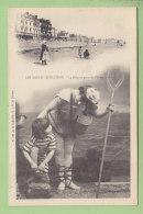 Les Sables D'Olonne : Le Départ Pour La Pêche. Dos Simple. TBE. 2 Scans. Edition G I D - Sables D'Olonne