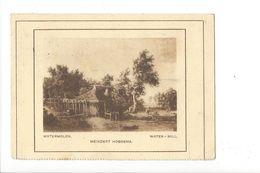 18073 - Watermolen Meindert Hobbema Water-Mill (format 12 X8,5) - Peintures & Tableaux