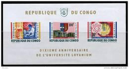 Congo BL 013** Anniversaire Universite Lovanium  MNH - République Du Congo (1960-64)