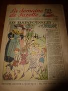 1950 LSDS (La Semaine De Suzette): Le Mystère Du CHAT SIAMOIS ; Les FANFAROUNNETS Et Le SORCIER ; Etc - La Semaine De Suzette