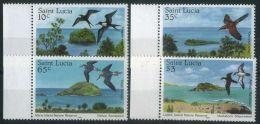 SAINTE-LUCIE (  POSTE ) : Y&T N°  759/752  TIMBRES  NEUFS  SANS  TRACE  DE  CHARNIERE , A  VOIR . - St.Lucia (1979-...)