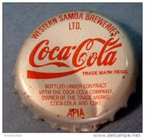 Coca-Cola Kronkorken Western Samoa Bottle Crown Cap Chapa Tapon Corona Tappi Tappo Capsule - Soda