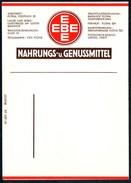 A8575 - Flöha - EBE - Nahrungs- Und Genußmittel - Rechnungszettel Werbung Reklame - Lebensmittel