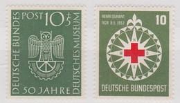 BUND  MICHEL N° 163-164 ** - Unused Stamps