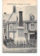 CPA 02 Aubenton Monument De La Victoire - Autres Communes