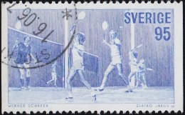 SWEDEN - Scott #1200 Badminton / Used Stamp - Badminton