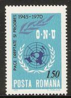 Romania 1970 Mi# 2887 ** MNH - 25th Anniv. Of The United Nations - 1948-.... Republics