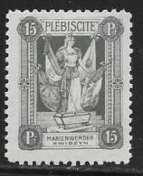Marienwerder, Scott #42 Mint Hinged Plebiscite, 1920 - Germany