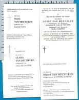 Bp    Booischot    Van Mechelen    4 Stuks - Images Religieuses