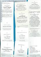 Bp    Booischot    Peeters    15 Stuks - Images Religieuses