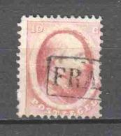 Netherlands 1864 NVPH 5 Canceled  (1) - Gebraucht
