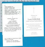 Bp    Booischot    Vonckx    3 Stuks - Images Religieuses