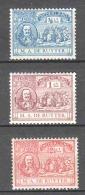 Netherlands 1907 NVPH 87-89 MH - MICHIEL DE RUYTER / SHIPS - Period 1891-1948 (Wilhelmina)