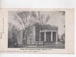 Cpa.Etats-Unis.Hanover.College Hall.Dartmouth College.1903. - Etats-Unis