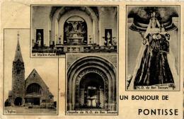 BELGIQUE - LIEGE - HERSTAL - PONTISSE - Un Bonjour De Pontisse. - Herstal