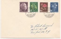 1948  FDC Pour Les USA - Pro Juventute