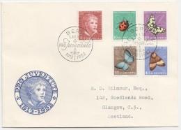 1952  FDC Pour L'Ecosse - Pro Juventute